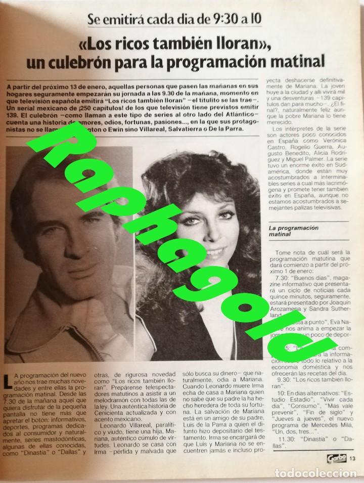 Coleccionismo de Revista Garbo: Revista GARBO nº 1707 Isabel Pantoja Estefanía de Mónaco Miguel Bosé Verónica Castro John Travolta - Foto 5 - 191811870