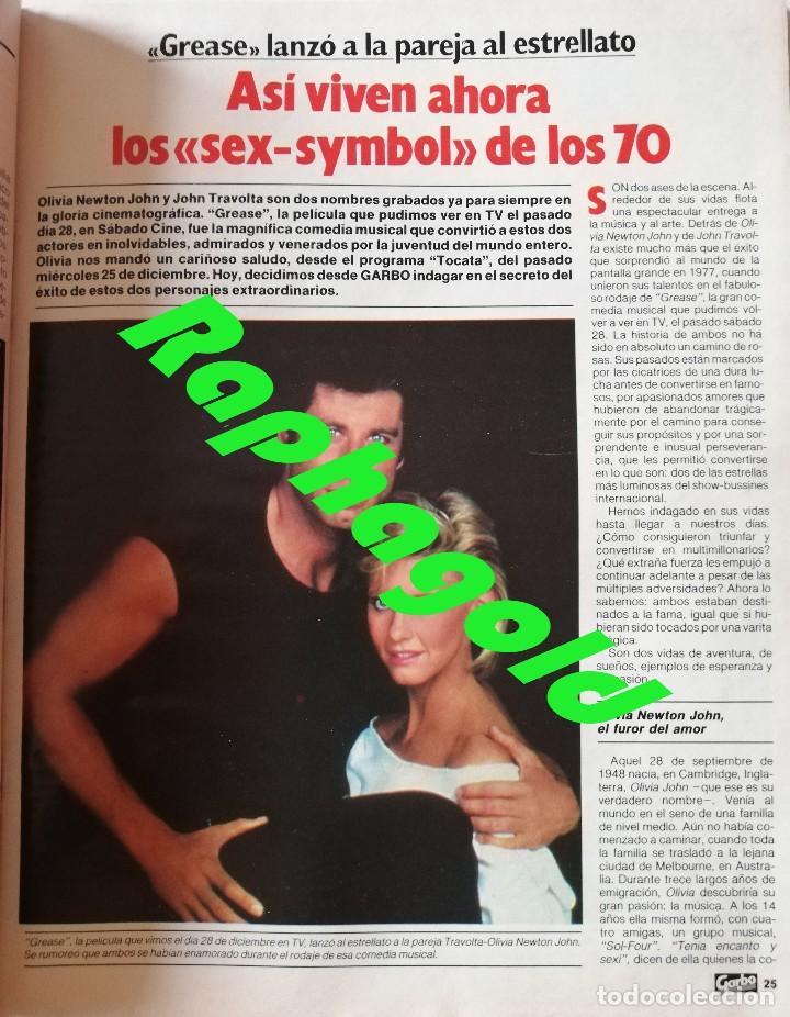 Coleccionismo de Revista Garbo: Revista GARBO nº 1707 Isabel Pantoja Estefanía de Mónaco Miguel Bosé Verónica Castro John Travolta - Foto 6 - 191811870