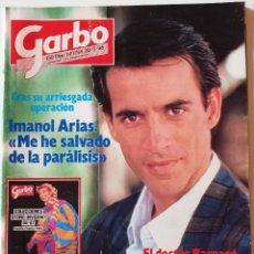 Colecionismo da Revista Garbo: REVISTA GARBO 1744 IMANOL ARIAS CAROLINA DE MÓNACO FRANK SINATRA JULIÁN LENNON MADONNA KIM BASSINGER. Lote 171262258