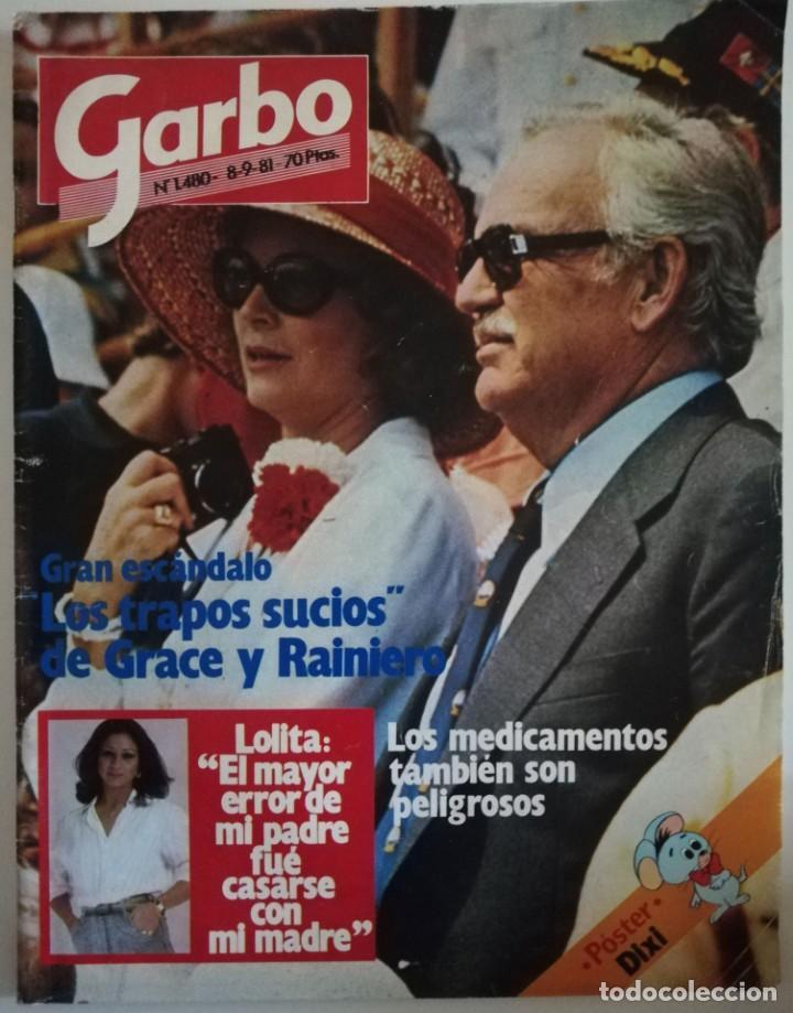 REVISTA GARBO Nº 1480 GRACE KELLYJACLYN SMITH LOS ANGELES DE CHARLIE EUROVISION BRITT EKLAND LOLITA (Coleccionismo - Revistas y Periódicos Modernos (a partir de 1.940) - Revista Garbo)