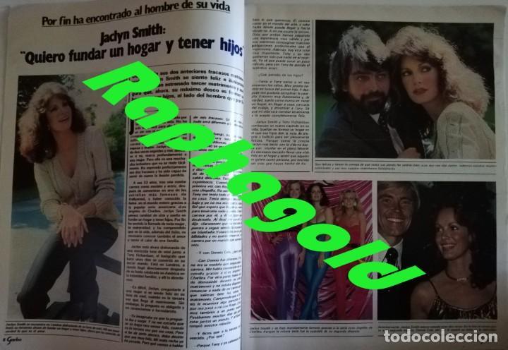 Coleccionismo de Revista Garbo: Revista Garbo nº 1480 Grace KellyJaclyn Smith Los angeles de Charlie Eurovision Britt Ekland Lolita - Foto 3 - 171590513