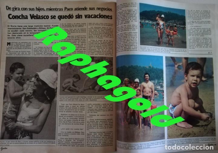 Coleccionismo de Revista Garbo: Revista Garbo nº 1480 Grace KellyJaclyn Smith Los angeles de Charlie Eurovision Britt Ekland Lolita - Foto 10 - 171590513