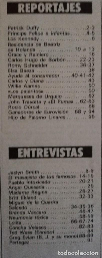 Coleccionismo de Revista Garbo: Revista Garbo nº 1480 Grace KellyJaclyn Smith Los angeles de Charlie Eurovision Britt Ekland Lolita - Foto 12 - 171590513