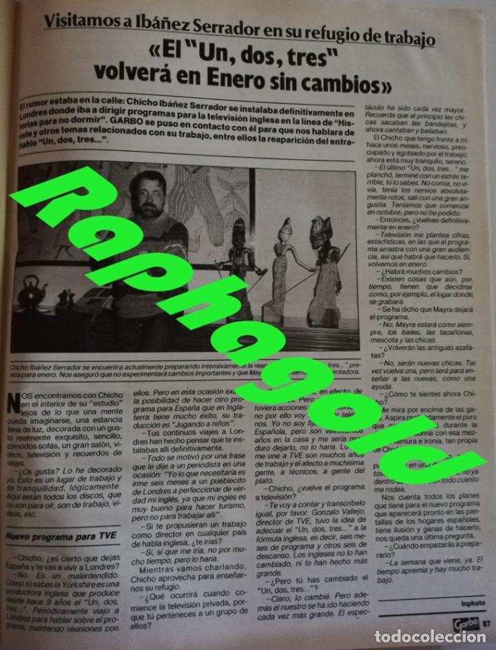 Coleccionismo de Revista Garbo: Revista Garbo 1748 Marisol Jane Birkin Anthony Perkins Julio Iglesias Fernando Martin Britt Ekland - Foto 7 - 172474330