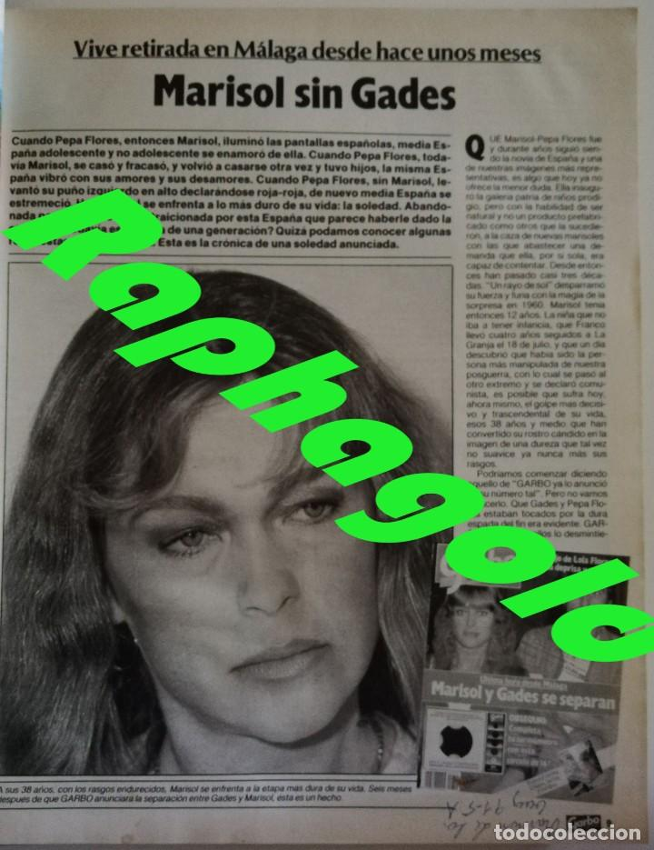 Coleccionismo de Revista Garbo: Revista Garbo 1748 Marisol Jane Birkin Anthony Perkins Julio Iglesias Fernando Martin Britt Ekland - Foto 9 - 172474330