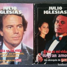 Coleccionismo de Revista Garbo: LOTE JULIO IGLESIAS GARBO. Lote 175197034
