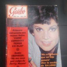 Coleccionismo de Revista Garbo: REVISTA GARBO 1969,REPOR SALOMÉ , FALLAS ETC. Lote 175789895