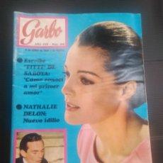 Coleccionismo de Revista Garbo: REVISTA GARBO 1969 REPOR ROMY SCHNEIDER , JHONN LENNON. Lote 175796540