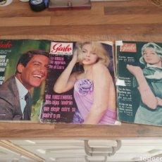Coleccionismo de Revista Garbo: LOTE 3 REVISTAS GARBU 720 799 Y 387. Lote 176175049