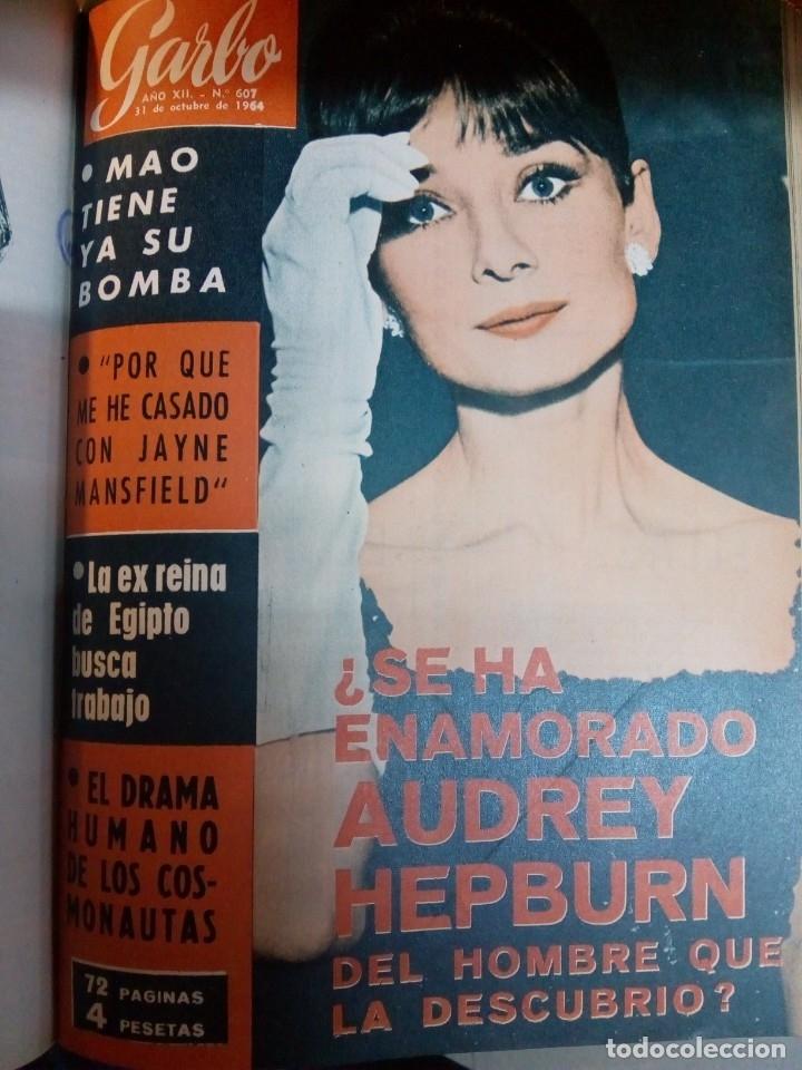 Coleccionismo de Revista Garbo: Revista semanal GARBO. De 8 de agosto a 21 de noviembre de 1964, ambas inclusive. RM64772 - Foto 3 - 41641807