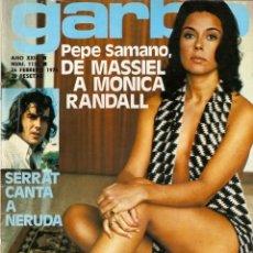 Coleccionismo de Revista Garbo: GARBO N 1139 INMA DE SANTIS, MONICA RANDALL, SERRAT MARIA, CALLAS, CARMEN CERVERA, VICTOR PETIT. Lote 177717395