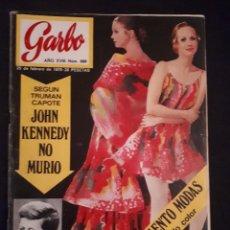 Coleccionismo de Revista Garbo: REVISTA GARBO Nº 886. JOHN KENNEDY, JULIO IGLESIAS, ADAMO,.... Lote 178026893