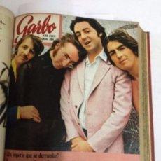 Coleccionismo de Revista Garbo: GARBO- ENCUADERNACIÓN 13 EJEMPLARES - DEL 891 AL 903 (ABRIL 1970 A JUNIO 70)- PERFECTOS (BEATLES). Lote 178215501