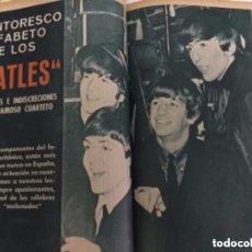 Coleccionismo de Revista Garbo: GARBO- ENCUADERNACIÓN 13 EJEMPLARES - DEL 643 AL 655 (JULIO 1965-SEP.65) - PERFECTOS (BEATLES). Lote 178215895