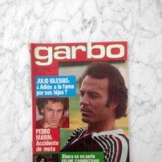 Coleccionismo de Revista Garbo: GARBO - 1980 - JULIO IGLESIAS, SARA MONTIEL, PEDRO MARIN, ANDY GIBB, NADIUSKA, ANTONIO MOLINA. Lote 178572540
