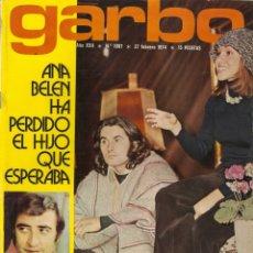Coleccionismo de Revista Garbo: REVISTA GARBO 1087 ANA BELEN EUROVISIÓN URSULA ANDRESS JULIO IGLESIAS CARMEN SEVILLA PERET. Lote 178654207