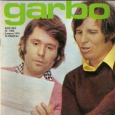 Colecionismo da Revista Garbo: REVISTA GARBO Nº 1088 RAPHAEL EL CORDOBÉS JANE BIRKIN SERGE GAINSBURG MIGUEL BOSE TONY ISBERT. Lote 178654968