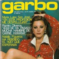 Colecionismo da Revista Garbo: REVISTA GARBO Nº 1192 MARIA LUISA SAN JOSÉ NINS JANE FONDA CONCHA VELASCO BRIGITTE BARDOT EVA LEÓN. Lote 178676517