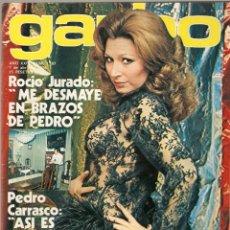 Coleccionismo de Revista Garbo: REVISTA GARBO Nº 1197 ROCIO JURADO AGATA LYS MIGUEL BOSE JULIO IGLESIAS SILVIA TORTOSA MANOLO OTERO. Lote 178678741