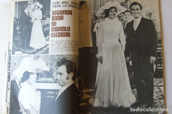 Coleccionismo de Revista Garbo: GARBO 1051 MARISOL MANOLO ESCOBAR VOP SHADOW GELA GEISLER MONTSERRAT CABALLE NINO BRAVO CAMILO SESTO - Foto 2 - 178842051