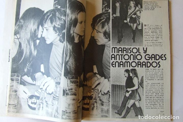 Coleccionismo de Revista Garbo: GARBO 1051 MARISOL MANOLO ESCOBAR VOP SHADOW GELA GEISLER MONTSERRAT CABALLE NINO BRAVO CAMILO SESTO - Foto 3 - 178842051