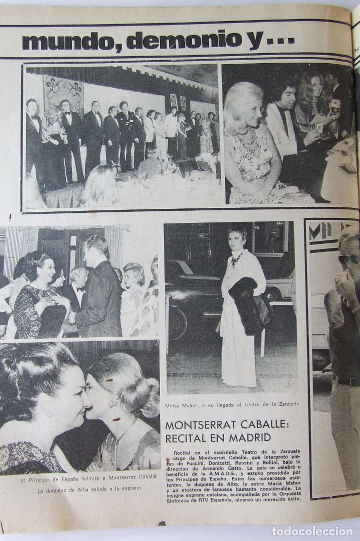 Coleccionismo de Revista Garbo: GARBO 1051 MARISOL MANOLO ESCOBAR VOP SHADOW GELA GEISLER MONTSERRAT CABALLE NINO BRAVO CAMILO SESTO - Foto 6 - 178842051