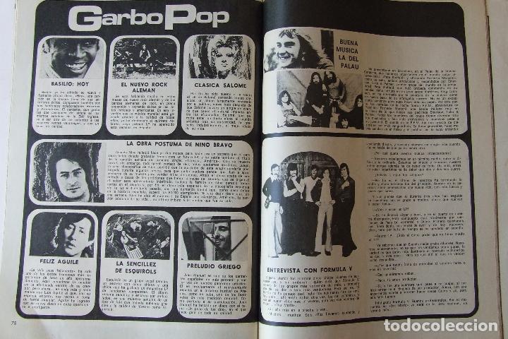 Coleccionismo de Revista Garbo: GARBO 1051 MARISOL MANOLO ESCOBAR VOP SHADOW GELA GEISLER MONTSERRAT CABALLE NINO BRAVO CAMILO SESTO - Foto 7 - 178842051