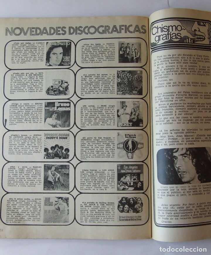 Coleccionismo de Revista Garbo: GARBO 1051 MARISOL MANOLO ESCOBAR VOP SHADOW GELA GEISLER MONTSERRAT CABALLE NINO BRAVO CAMILO SESTO - Foto 8 - 178842051