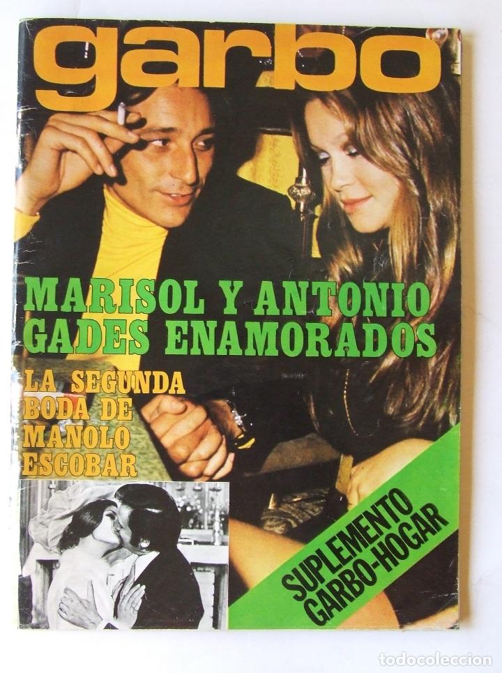 GARBO 1051 MARISOL MANOLO ESCOBAR VOP SHADOW GELA GEISLER MONTSERRAT CABALLE NINO BRAVO CAMILO SESTO (Coleccionismo - Revistas y Periódicos Modernos (a partir de 1.940) - Revista Garbo)