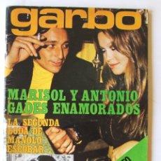 Coleccionismo de Revista Garbo: GARBO 1051 MARISOL MANOLO ESCOBAR VOP SHADOW GELA GEISLER MONTSERRAT CABALLE NINO BRAVO CAMILO SESTO. Lote 178842051