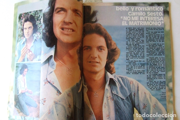 Coleccionismo de Revista Garbo: GARBO 1136 SARA MONTIEL CAMILO SESTO ALAIN DELON CONCHA VELASCO SILVIA TORTOSA ANTONIO FERRANDIS - Foto 2 - 178842143