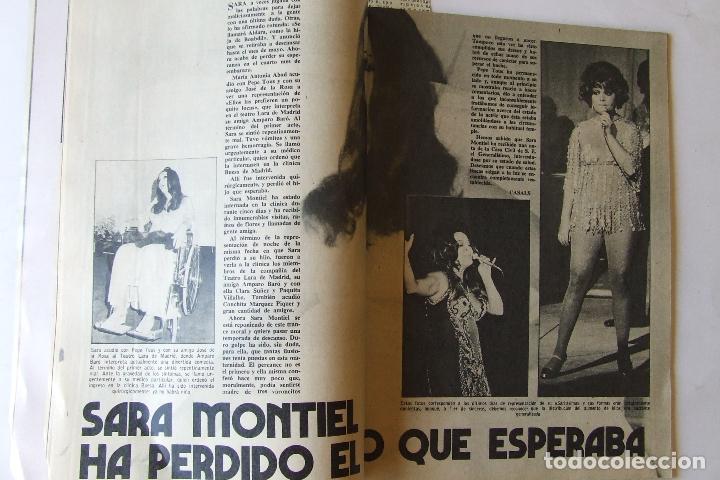 Coleccionismo de Revista Garbo: GARBO 1136 SARA MONTIEL CAMILO SESTO ALAIN DELON CONCHA VELASCO SILVIA TORTOSA ANTONIO FERRANDIS - Foto 3 - 178842143