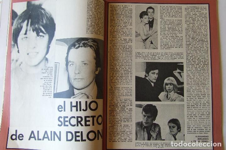Coleccionismo de Revista Garbo: GARBO 1136 SARA MONTIEL CAMILO SESTO ALAIN DELON CONCHA VELASCO SILVIA TORTOSA ANTONIO FERRANDIS - Foto 4 - 178842143
