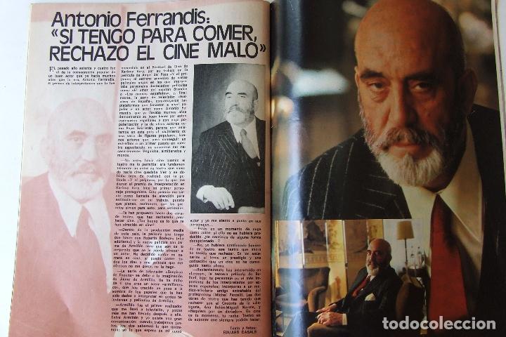 Coleccionismo de Revista Garbo: GARBO 1136 SARA MONTIEL CAMILO SESTO ALAIN DELON CONCHA VELASCO SILVIA TORTOSA ANTONIO FERRANDIS - Foto 7 - 178842143