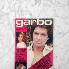 Coleccionismo de Revista Garbo: GARBO - 1979 - CAMILO SESTO, CARMEN SEVILLA, LAS TRILLIZAS, ERASE UNA VEZ EL HOMBRE, SARA MONTIEL. Lote 178855361