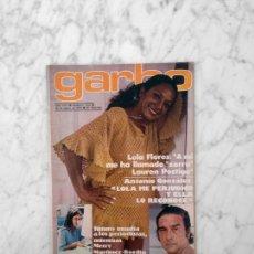 Coleccionismo de Revista Garbo: GARBO - 1978 - LOLA FLORES, MICKY, ANALIA GADE, ANTONIO GONZALEZ, ANA ANGUITA, JOHN TRAVOLTA. Lote 178890320