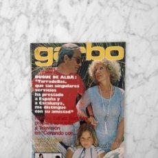 Coleccionismo de Revista Garbo: GARBO - 1978 - DUQUES DE ALBA, JAIME DE MORA Y FABIOLA, ROCIO JURADO, MARIA ASQUERINO, ESPERANZA ROY. Lote 178893383