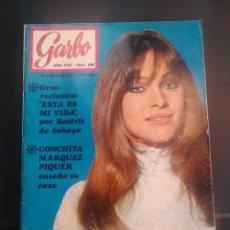 Coleccionismo de Revista Garbo: REVISTA GARBO 1969 REPOR BODA DE MARISOL. Lote 179221515