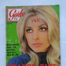 Coleccionismo de Revista Garbo: SHARON TATE ~ ROMY SCHNEIDER ~ GRACE KELLY ~ MARIA CALLAS ... EN GARBO 1969. Lote 179228443