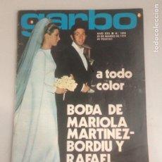 Coleccionismo de Revista Garbo: REVISTAS GARBO. Lote 180034598