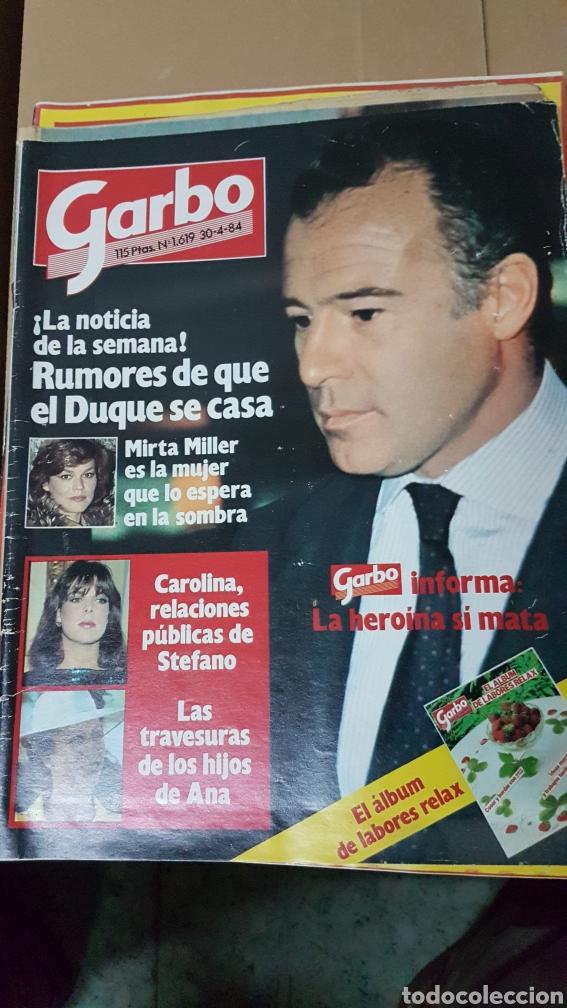 REVISTA GARBO 30 ABRIL 1984 (Coleccionismo - Revistas y Periódicos Modernos (a partir de 1.940) - Revista Garbo)