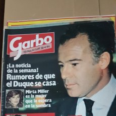 Coleccionismo de Revista Garbo: REVISTA GARBO 30 ABRIL 1984. Lote 180157936