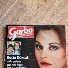 Coleccionismo de Revista Garbo: GARBO 1983 ROCIO DURCAL VERANO AZUL CHANQUETE CHERYL LADD FARRAH FAWCETT. Lote 180260933