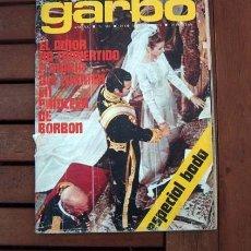 Coleccionismo de Revista Garbo: GARBO / ESPECIAL BODA DE DUQUES DE CADIZ, MARY FRANCIS, PALOMA SAN BASILIO, GLEN LEE, SUPER BOLIDOS. Lote 180501990