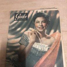Coleccionismo de Revista Garbo: GARBO. Lote 181110986