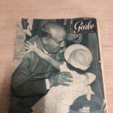 Coleccionismo de Revista Garbo: GARBO. Lote 181111155