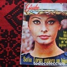 Coleccionismo de Revista Garbo: REVISTA GARBO SOFIA LOREN ESPERA UN HIJO. Lote 182162175