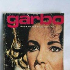 Coleccionismo de Revista Garbo: REVISTA GARBO MARZO 1973 LIZ TAYLOR LOLA FLORES. Lote 184587111
