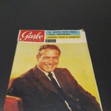 Coleccionismo de Revista Garbo: GARBO N° 633. 1965. PAUL NEWMAN, JOHNNY, SYLVIE VARTAN, TYRONE POWER, RINGO STARR.. Lote 185245626