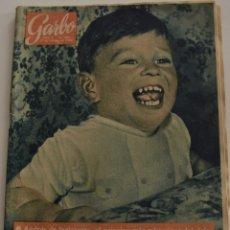 Coleccionismo de Revista Garbo: GARBO Nº 502 - AÑO X -27 SEPTIEMBRE 1962 -ANDRES DE INGLATERRA, EL PRINCIPE MAS MISTERIOSO DEL MUNDO. Lote 186306188